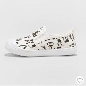 Cat & Jack Shoes - NWT Cat & Jack Girls Laif Panda Slip On Sneakers